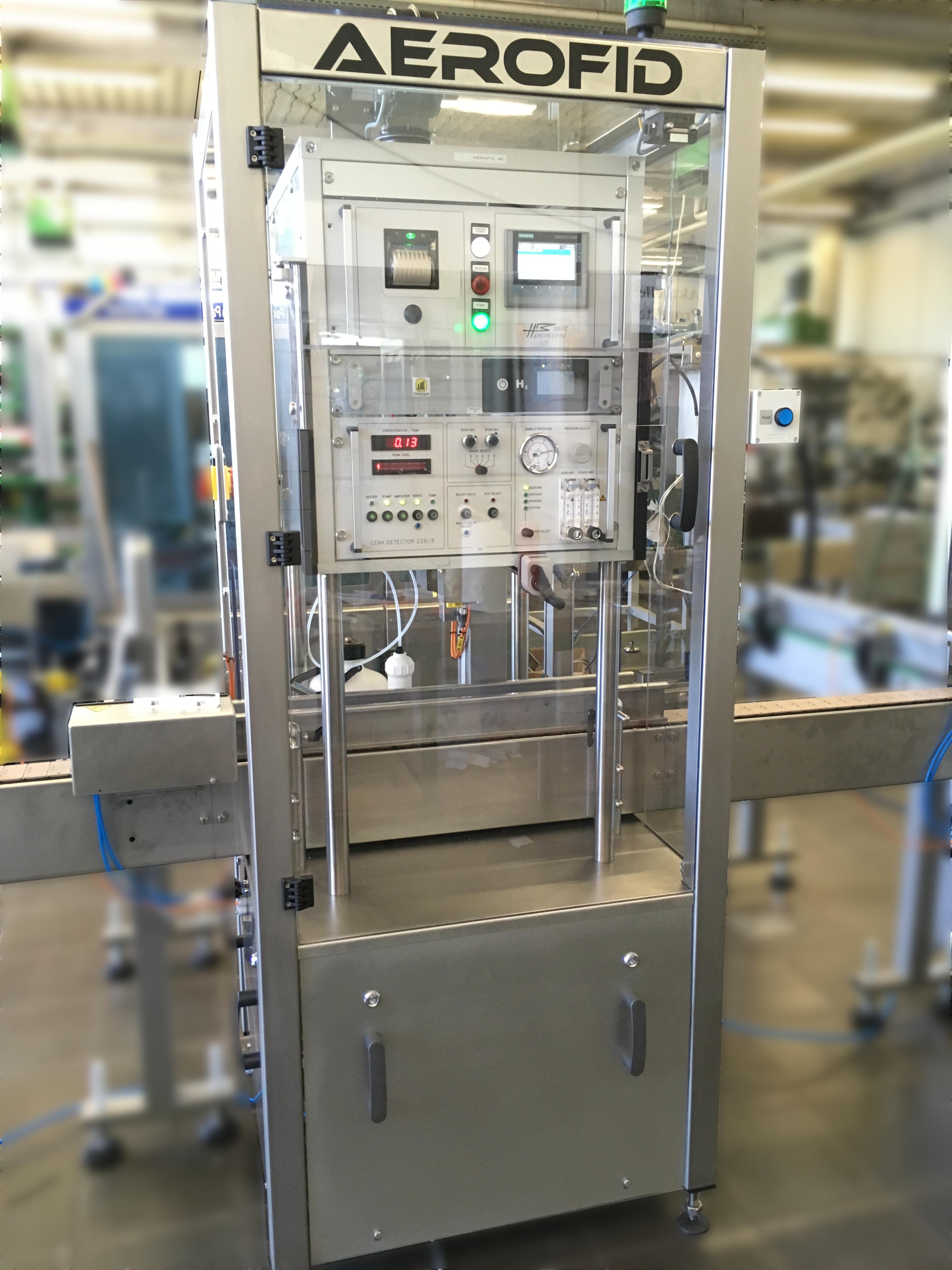 Aerofid Aerosol Leak Detector Raupack UK and Ireland