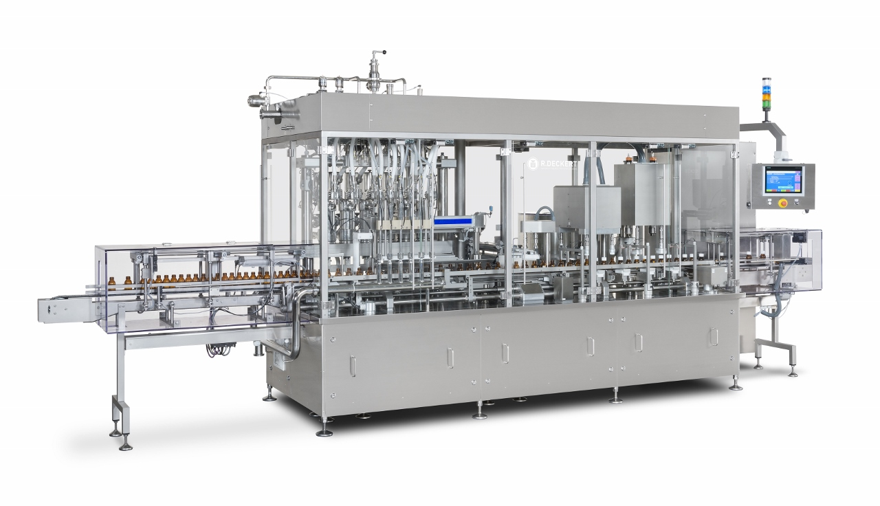 Liquid Filling and Capping Machine 100 per minute Raupack UK and Ireland