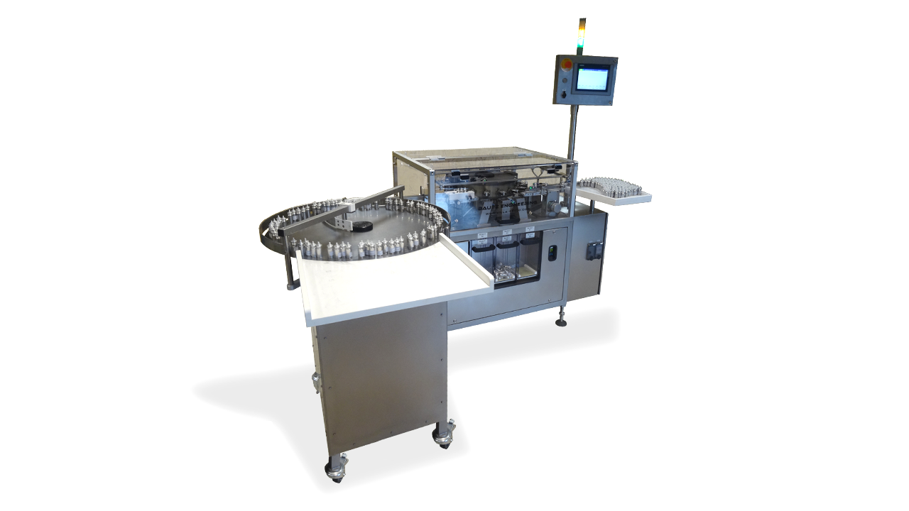 VFT 60 Valve Functioner Tester for Aerosols Raupack UK and Ireland