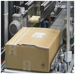 Vario 588 volume reduced taped box Raupack UK and Ireland