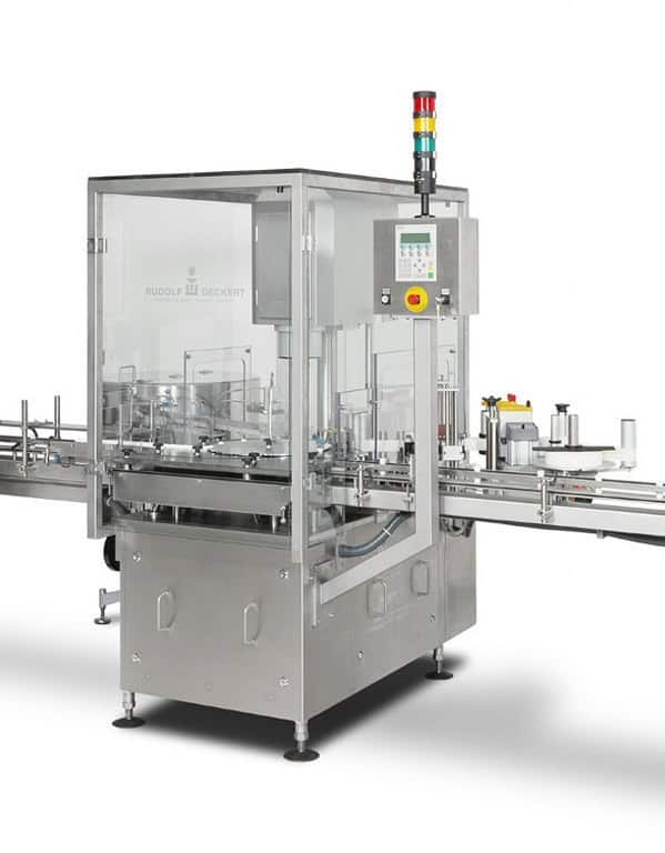 <ol><li>Ability to button shaped and oriented buttons or nozzles as well as normal buttons<li>Fast Changeover<li>Small Footprint<li>Available as buttoner with capping station to place caps<li>Atex rated version available<li>Optional Labelling station</ol>