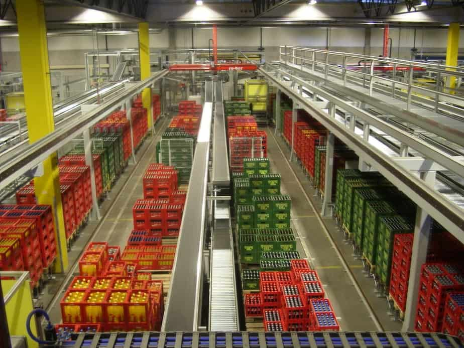 Order Picking in Drinks Distribution Centre