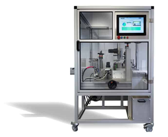 <ol><li>Fast tool-less changeover<li>No change parts<li>Integrated Serialisation Data<li>Length only 1m<li>Order Management possible from the HMI or inter/intranet<li>Data Communication with Partners or Authorities<li>Reporting Tools</ol>